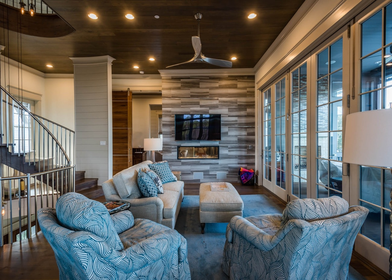 Custom Home Interior Design By Sugar Beach Interiors, Santa Rosa Beach,  Florida, Watercolor